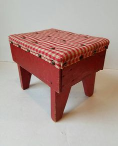 Check out this item in my Etsy shop https://www.etsy.com/listing/476389334/red-cricket-stool-wood-cricket-stool