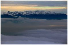 Magnificent view from Babia Góra 21 of November 2013 Grube team.