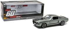 """Diecast Vehicle Replica Model Toy 1967 Ford Mustang """"Eleanor"""" 1:18"""
