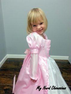 Pink Ariel Dress Tutorial My Nerd Obsessions