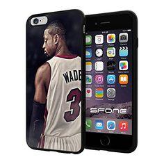 "NBA Basketball Player Dwyane Tyrone Wade, Jr. Miami Heat, Cool iPhone 6 Plus (6+ , 5.5"") Smartphone Case Cover Collector iphone TPU Rubber Case Black Phoneaholic http://www.amazon.com/dp/B00WFOQRU6/ref=cm_sw_r_pi_dp_efNpvb144X5G0"