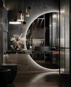 Home Room Design, Dream Home Design, Modern House Design, Modern Houses, Interior Design Career, Modern Interior Design, Design Interiors, Contemporary Interior, Modern Decor