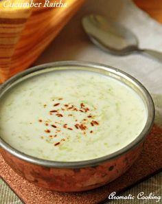 Aromatic Cooking: Cucumber Raitha/ Cucumber With Curds
