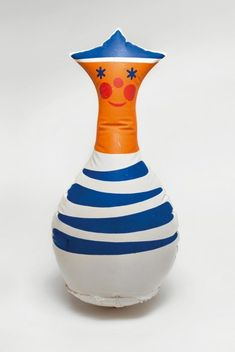 Inflated vinyl Sailor toy, Czechoslovakia, 1974, by Libuše Niklová.