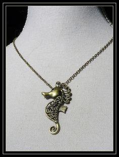 Cheval de Mer - Collier : Collier par asta-en-bretagne