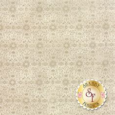 """Evergreen 30405-11 Marshmallow by Moda Fabrics: Evergreen is a collection by BasicGrey for Moda Fabrics. This fabric features a tonal snowflake and floral design on a cream background. Width: 43""""/44""""Material: 100% CottonSwatch Size: 6"""" x 6"""" Expected Arrival Date Is May 2015"""