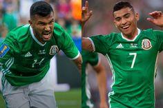 MARÍN Y PINEDA DEBUTAN COMO GOLEADORES DEL TRI Los dos elementos de Chivas marcaron por primera vez con Selección. México se impuso 3-1 a su rival El Salvador en la Copa Oro.