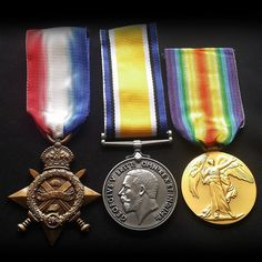 Medals Trio 1914 - 15 Star , British War & Victory Medal New British Repro Navy Medals, Burma Campaign, Bernard Montgomery, George Cross, Military Decorations, Home Guard, British Army, Wwi, World War Two