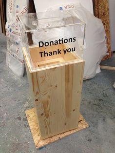 Donation box                                                                                                                                                                                 More