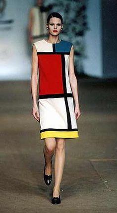 Mondrian YSL dress
