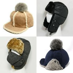 Gmarket - 9momen Fleece lined hat / fur lined / ear flaps / so...