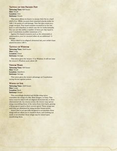 52 Best Dd Magic Items Stuff For The Murder Hobos Images Dnd 5e