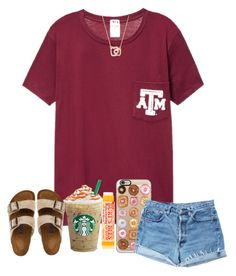 """""""Thanks for over 1000 likes! """" by arieannahicks on Polyvore featuring Casetify, Levi's, Birkenstock and Burt's Bees"""