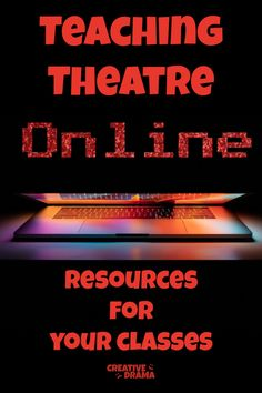 Here are some helpful resources for your students and you! Your classes can access some amazing material digitally. Teaching Theatre, Teaching Tips, Theatre Games, Teaching Art, Drama Theatre, Teaching Channel, Teaching Strategies, Musical Theatre, Drama Activities