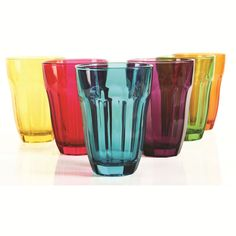 Circle Glass Overture 6-Piece Colored Set In Multicolor - 9.99 usd » Love the colors.