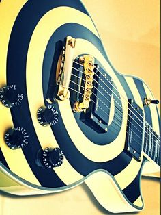 Gibson Les Paul Bulls Eye - used by Guitarist in Ozzy Osborne