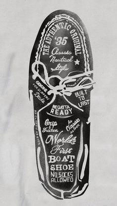 Sperry Top-Sider Illustrations by Glenn Wolk, via Behance