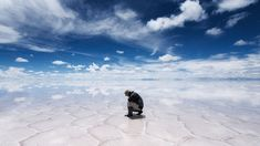 I travel to Bolivia to see the world's largest salt flats—and it's absolutely surreal.