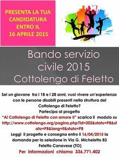 Bando servizio civile 2015