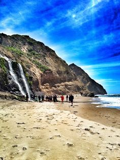 Alamere Falls.  Overall hike including walk on beach = 9 miles, 1200 ft of very gradual climbing, 4.5 hours including an hour lunch. (temporally closed, but you can still get there from the beach)