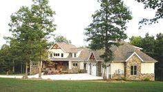 Timber Frame Home - Timber Frame Exterior - Homestead Timber Frames - Crossville Tennessee