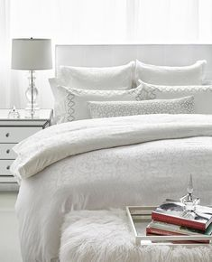 Q: How to make the perfect bed? A: See above! Made from the world's finest cotton, our Gisele Milk collection is a modern take on a timeless pattern. Neutral Bedding, White Bedding, Between The Sheets, Cool Bunk Beds, People Sleeping, Bunk Bed Designs, Beautiful Bedrooms, Beautiful Beds, Flat Sheets