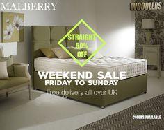 Save £420 on Mulberry Organic Kingsize