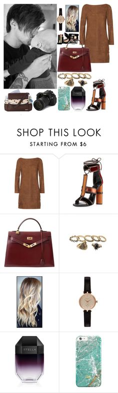 """""""Photoshoot with Louis and Freddie"""" by zandramalik ❤ liked on Polyvore featuring Vanessa Seward, Chanel, Tom Ford, Hermès, Barbour, STELLA McCARTNEY, Eos and Graco"""