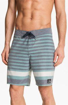 Quiksilver  Biarritz  Stripe Board Shorts  5ccda84ff73