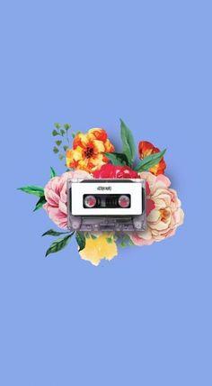 New ideas for vintage music wallpaper flower Teen Wallpaper, Cute Tumblr Wallpaper, Phone Wallpaper Quotes, Music Wallpaper, Cool Wallpaper, Cute Wallpapers, Wallpaper Backgrounds, Iphone Wallpaper, Vintage Backgrounds