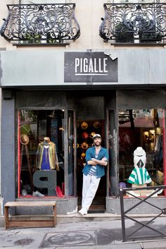 Stéphane Ashpool, the designer for Pigalle, and his shops are firmly rooted in the Paris neighborhood where he grew up.