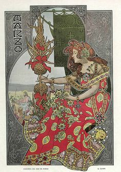 All sizes | 003-Alegoria del mes de Marzo- Gaspar Camps-Revista Álbum Salón-Enero de 1901 -Hemeroteca de la Biblioteca Nacional de España, via Flickr.