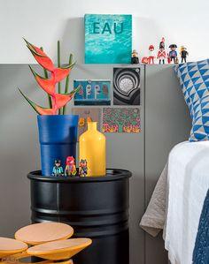 8 quartos com ideias de cabeceiras, enxovais, luminárias.