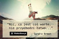 Nic, co jest coś warte... #Brown-Sandra,  #Poszukiwanie, #Wartości