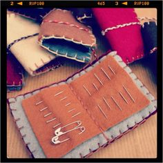 Needle cases for crafting