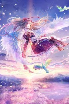 Ideas For Wallpaper Iphone Anime Kawaii People Anime Chibi, Kawaii Anime, Manga Anime, Comic Manga, Manga Art, Anime Angel, I Love Anime, Awesome Anime, Anime Style