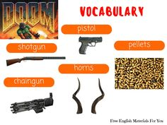 VOCABULARY LIST - episode 10 - English4Gamers - Free English Materials For You - Doom.jpg