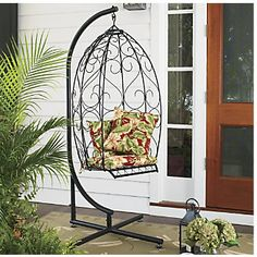 Scrolled Metal Swing from Through the Country Door®