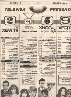 Programación 1988