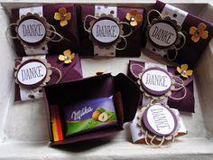 Kreativ am Deich : ...kleine Danke-Goodies....mit dem Envelope-Punch-Board....