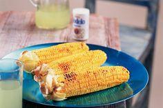 Kijk wat een lekker recept ik heb gevonden op Allerhande! Geroosterde maïskolven
