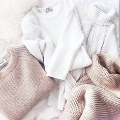 nude. white. #neutrals. sweaters.