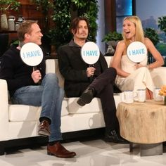 "Pin for Later: Gwyneth Paltrow and Johnny Depp Play ""Never Have I Ever,"" and Hilarity Ensues"