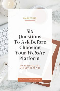 A website for any business can be a big deal and you want it up and running asap. But choosing the right one that will not only serve your needs, but grow with you as your business grows is important. Ask the right questions. Asking The Right Questions, Questions To Ask, Choose The Right, Up And Running, Continue Reading, About Me Blog, Advice, Let It Be, Marketing