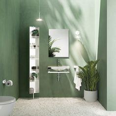 #bath #bathroom Rustic Bathroom Shelves, Rustic Bathroom Designs, Bathroom Ideas, Bathroom Vanities, Bathroom Furniture, Bathroom Interior, Cloud Bedroom, Black And White Tiles Bathroom, White Rooms