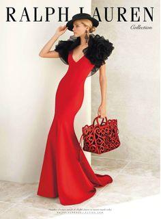 Valentina Zelyaeva for RALPH LAUREN SS 2013 Ad Campaign | THE SHARPER