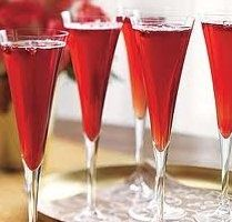 Champagne Cocktails...can't wait to make these, they look so tasty, fun, festive, and cute!