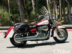 Honda Shadow Aero 750  My first (and only so far!) motorcycle ride was on one of these!