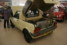 As well as Maestro vans, at least one Metro was used as a test-bed for the drivetrain for the forthcoming MGF