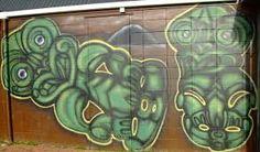 Tiki Graffiti in Rotorua